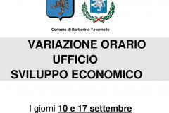 Avviso Ufficio Sviluppo Economico