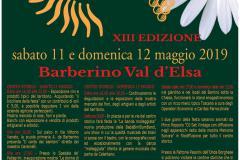 Locandina Barberino in Fiore 2019
