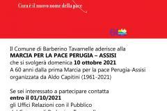 Locandina Marcia Perugia-Assisi