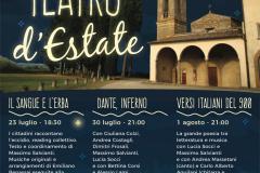 Locandina Teatro d'Estate - Arca Azzurra Eventi