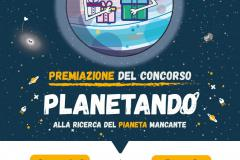 Locandina premiazione Planetando