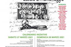 Manifesto 77° anniversario Eccidio Montemaggio